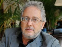 Escritor colombiano Héctor Abad Faciolince en el Festival de Literatura de Venecia en el 2010.