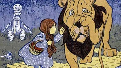 WONDERFUL WIZARD OF OZ, Dorothy and the Cowardly Lion, The Books That Changed Literature For Children