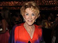 """The Young and the Restless actress Jeanne Cooper has a book out called """"Not Young, Still Restless."""" For radio."""