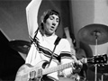 Pete Townshend of The Who performing on on Danish TV show 'Klar I Studiet' in Copenhagen, Denmark in 1966 - Pete Townshend Retrospective