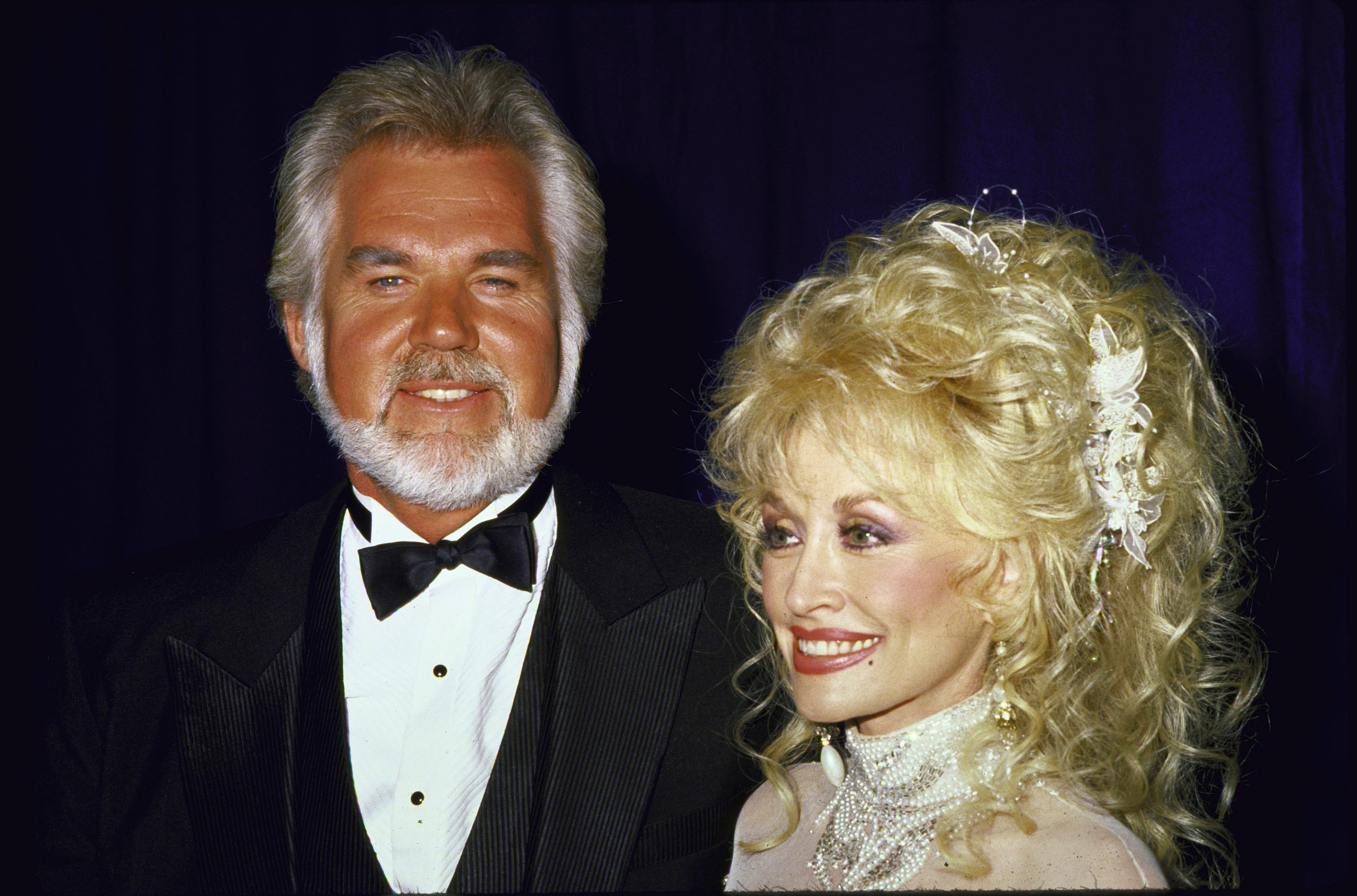 Singers Kenny Rogers and Dolly Parton - Kenny Rogers Retrospective
