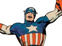 Capitan América - Superheroes celebrando 50 años