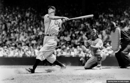 Detroit Tigers' Hank Greenberg, baseball's first Jewish superstar