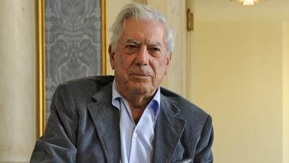 Escritor peruano Mario Vargas Llosa, ganador del Nobel de Literatura