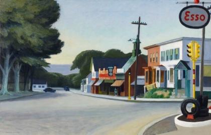 Edward Hopper, Americano, Retrato de Nueva Orleans, 1950 - Óleo sobre lienzo, Reseña de libros de La verdad sobre el caso Harry Quebert