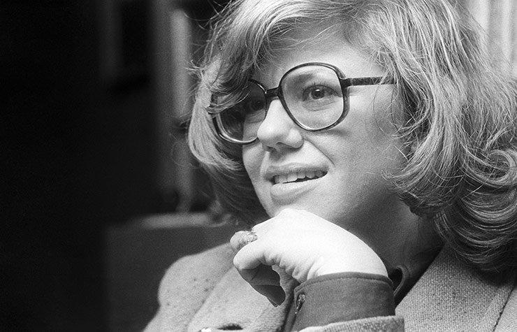 Portrait of Erica Jong, 1973.