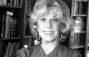 Portrait of Erica Jong, 2012.