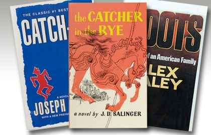 Catch-22, The Catcher in the Rye, and Roots, boomer books