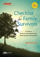 AARP Checklist for Family Survivors