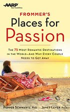 Frommers Places for Passion book cover AARP Pepper Schwartz Janet Lever