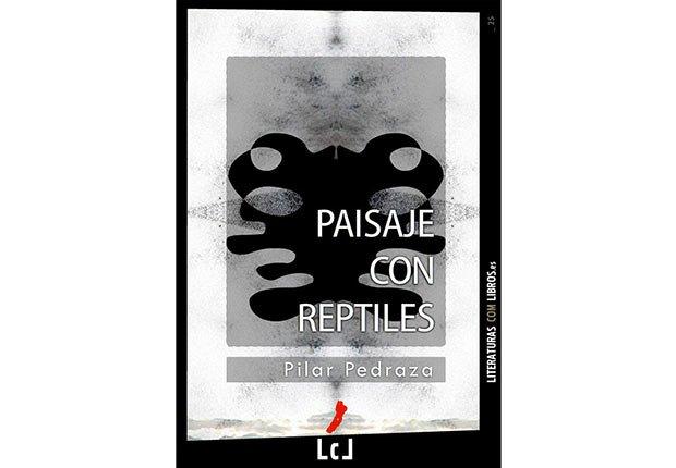 Portada del libro, Paisaje con Reptiles - Género de horror y espanto - Traducciones y publicaciones en español - Halloween