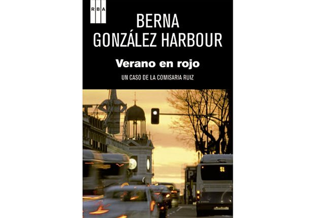 Portada del libro, Verano en Rojo - Género de horror y espanto - Traducciones y publicaciones en español - Halloween