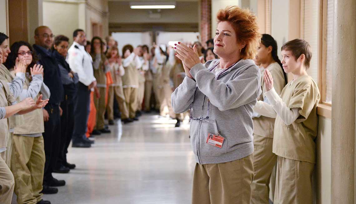 Kate Mulgrew en una escena de Orange Is the New Black