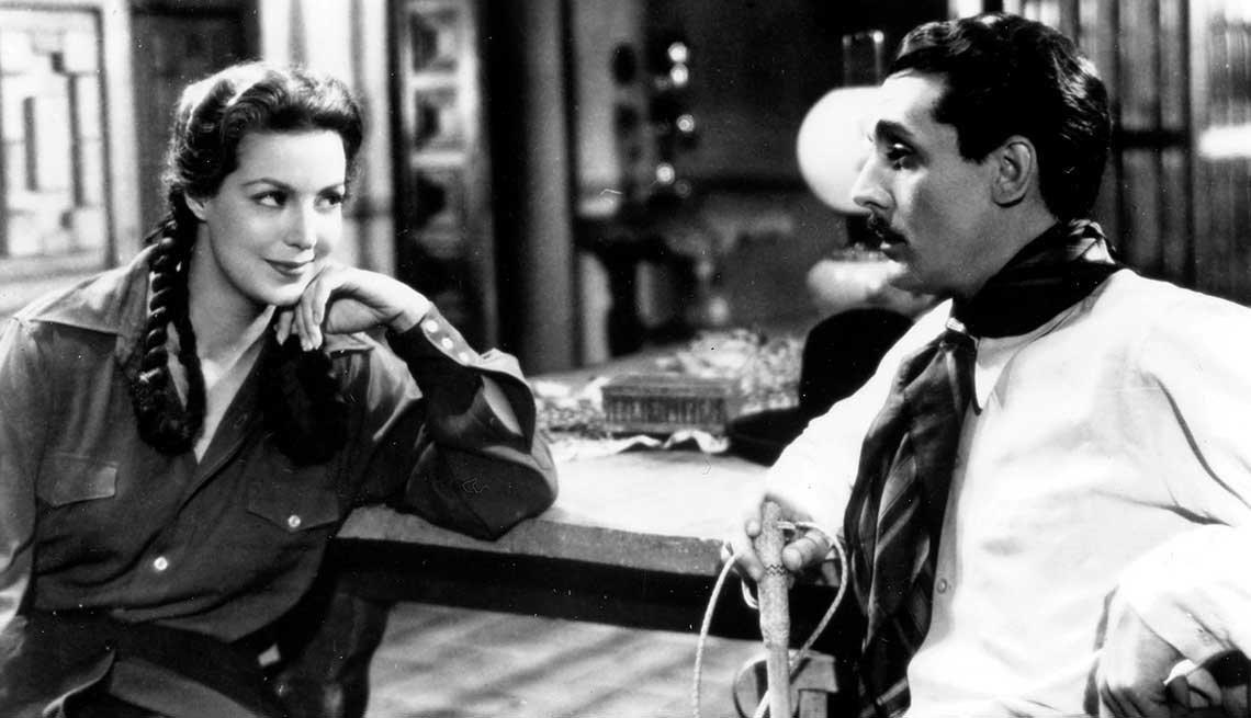 La actriz mexicana María Félix dio vida al personaje literario doña Bárbara - Heroínas de la literatura.