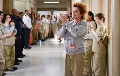 Kate Mulgrew en una escena de Orange Is the New Black