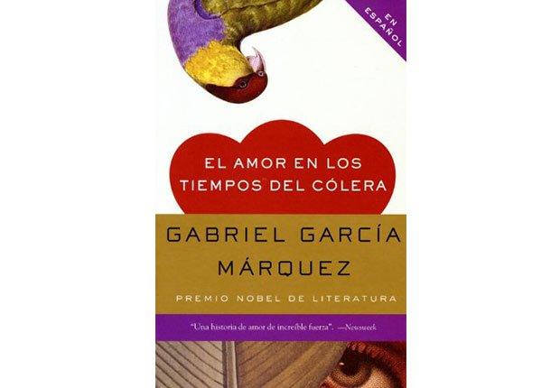 Portada del libro El amor en los tiempos del cólera de Gabriel García Márquez - Autores recomendados de la literatura en español