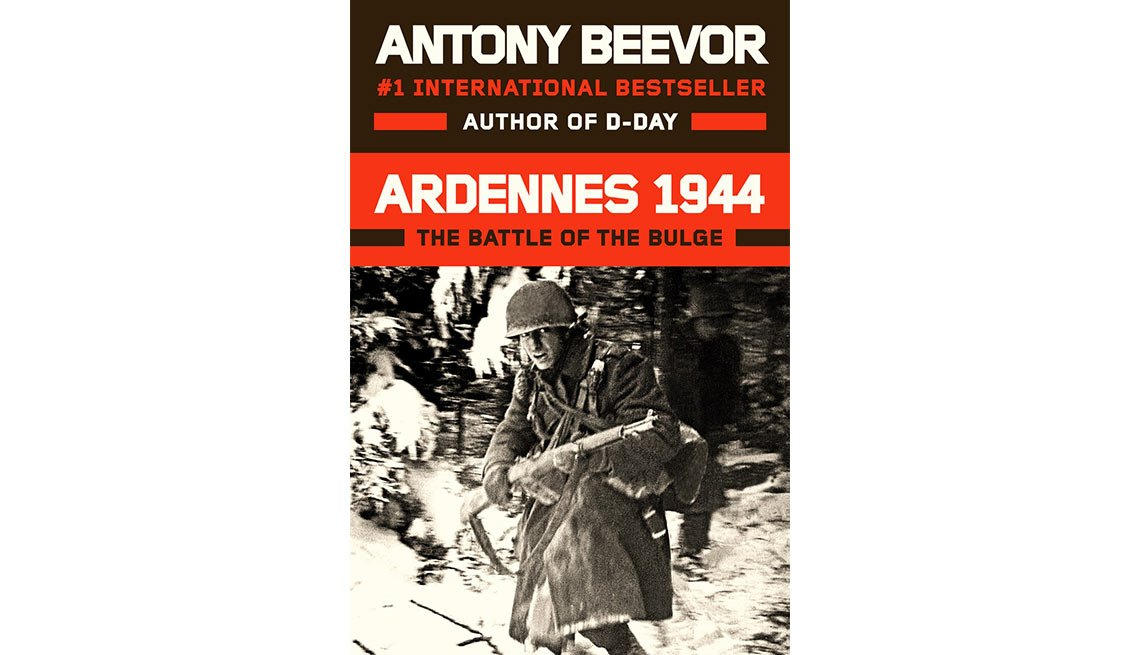 The historical nonfiction book 'Ardennes 1944' by bestselling author Antony Beevor