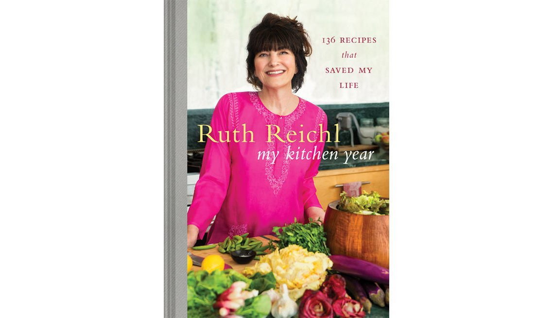 The New York Times bestseller 'My Kitchen Year' by Ruth Reichl