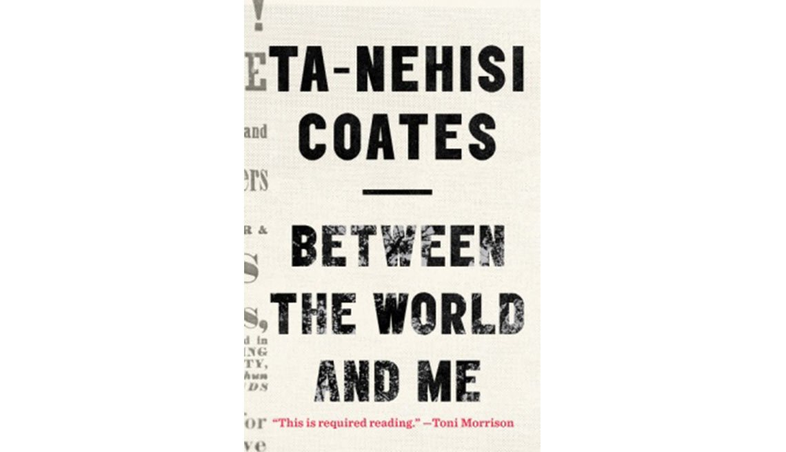 The New York Times bestseller 'Between the World and Me' by Ta-Nehisi Coates