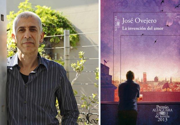 Retrato de José Ovejero, portada de La invención del amor