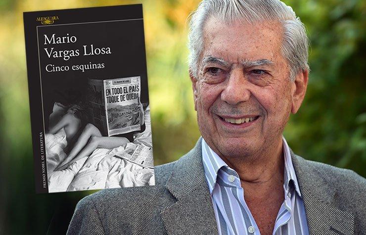 Cinco esquinas - Nuevo libro de Mario Vargas Llosa