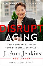 Disrupt aging book cover