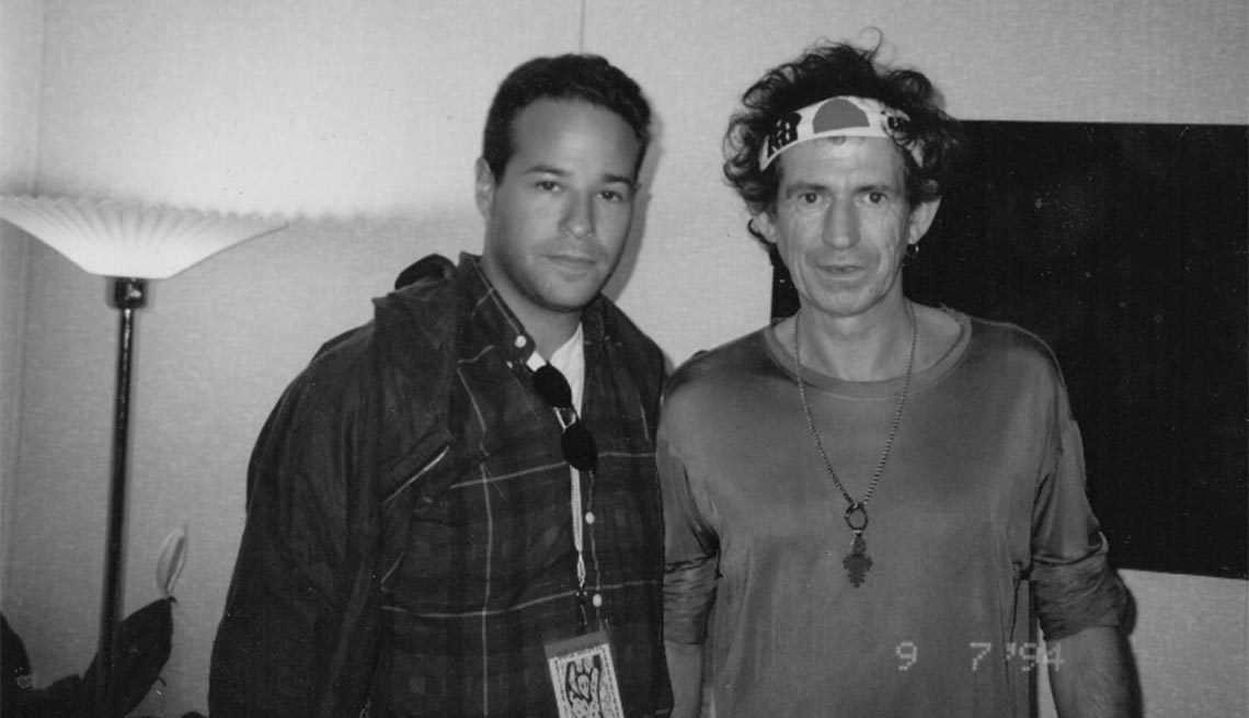 Rich Cohen and Keith Richards