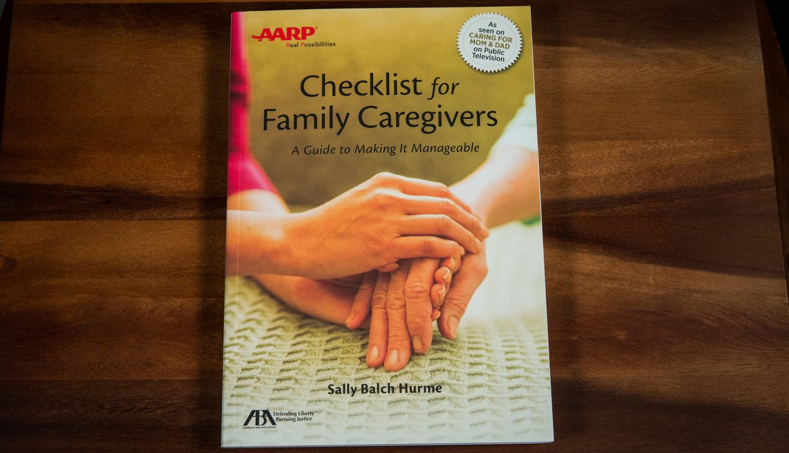 Checklist For Family Caregivers, AARP Books