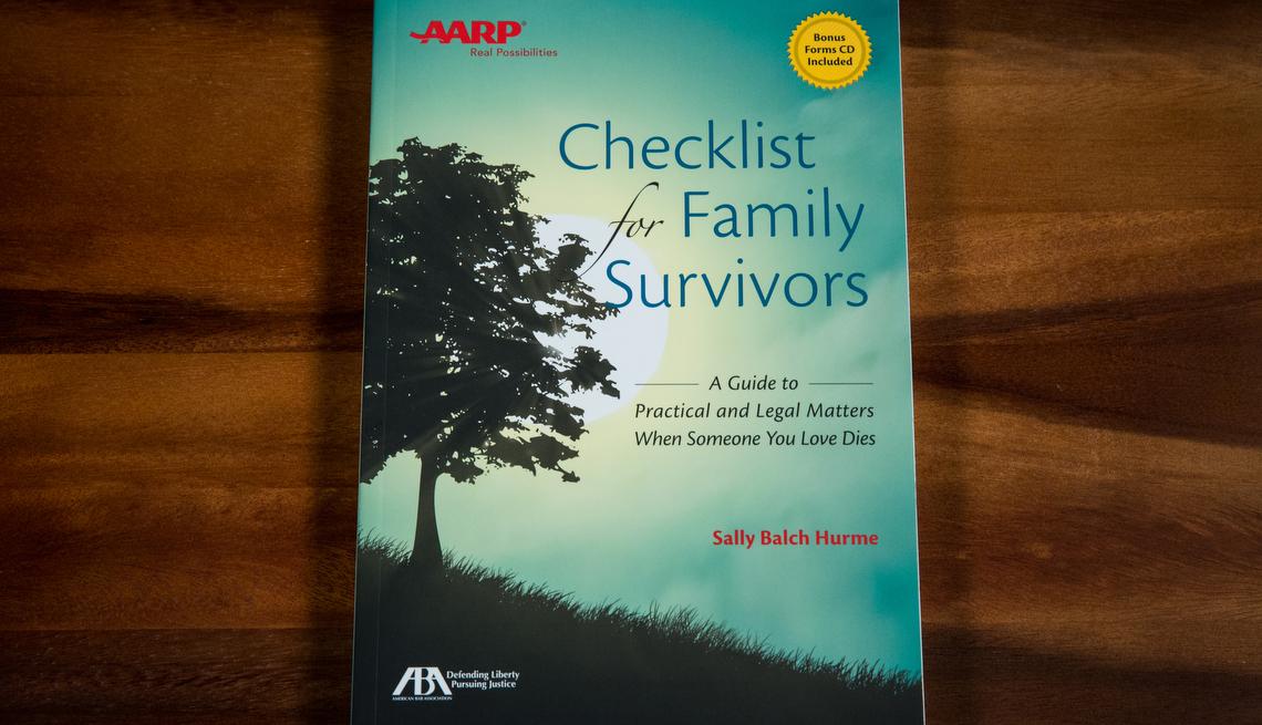 Checklist For Family Survivors, AARP Books