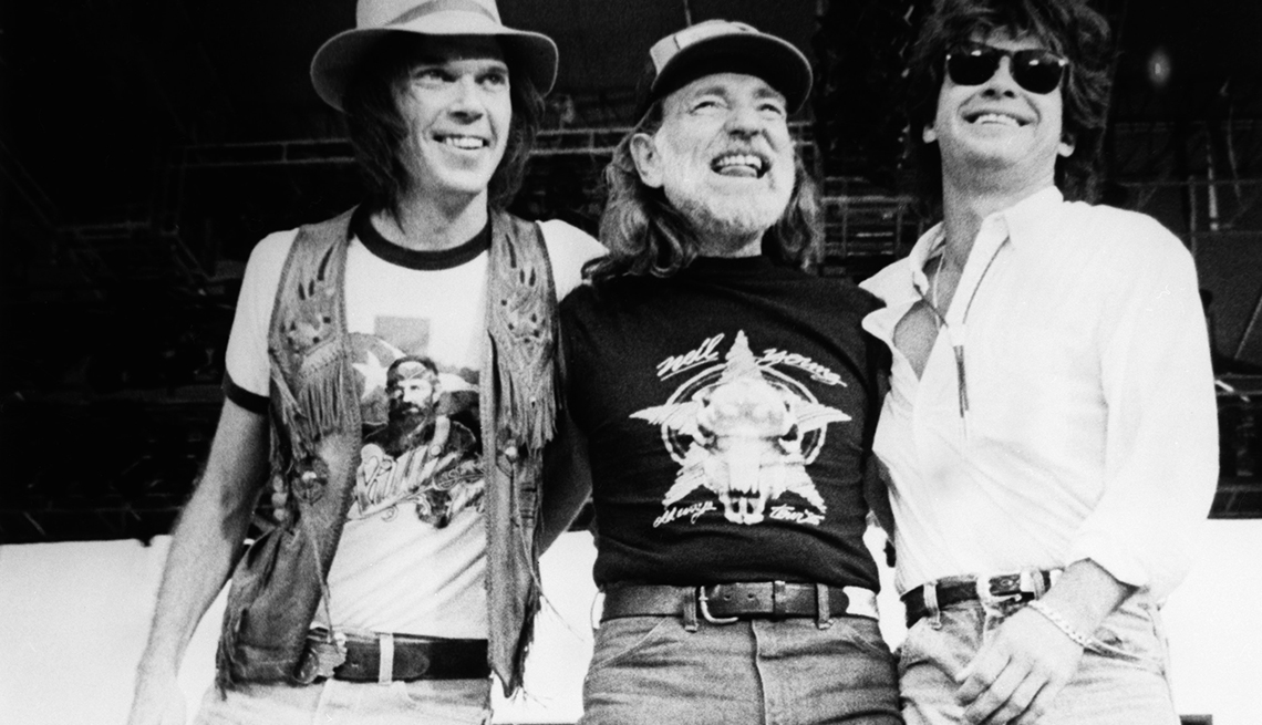 Slideshow: Neil Young: A Life in Pictures 'Waging Heavy Peace'