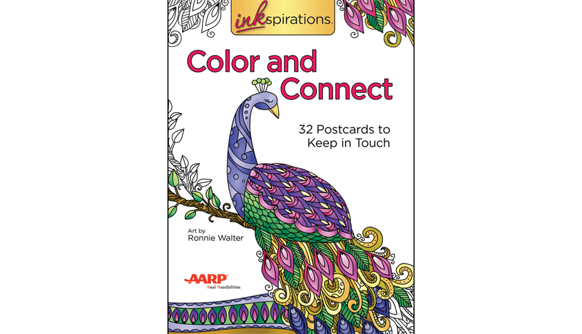 Color and Connect: 32 Postcards to Keep in Touch