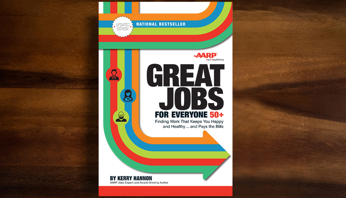 Portada del libro Great jobs for everyone 50+