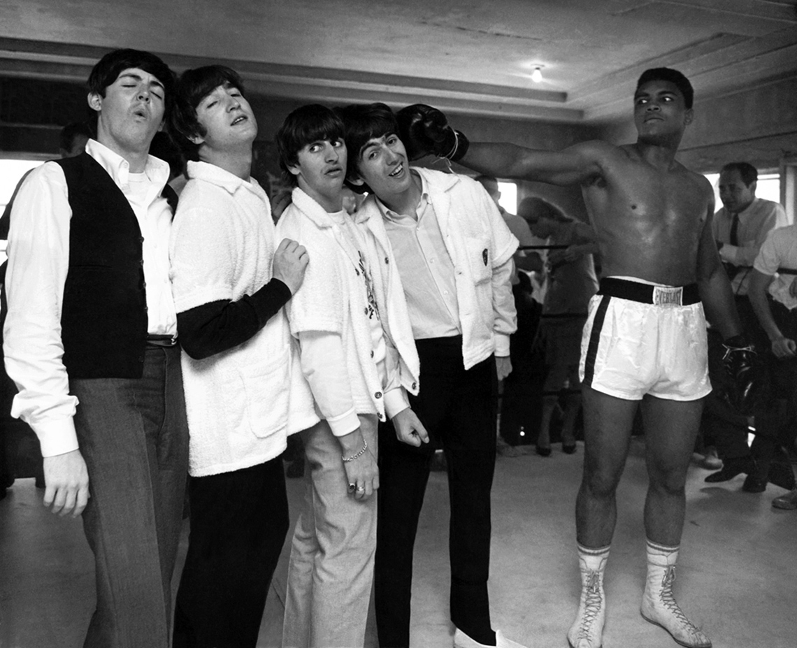 item 2 of Gallery image - The Beatles and Cassius Clay,  Miami, Florida, 1964