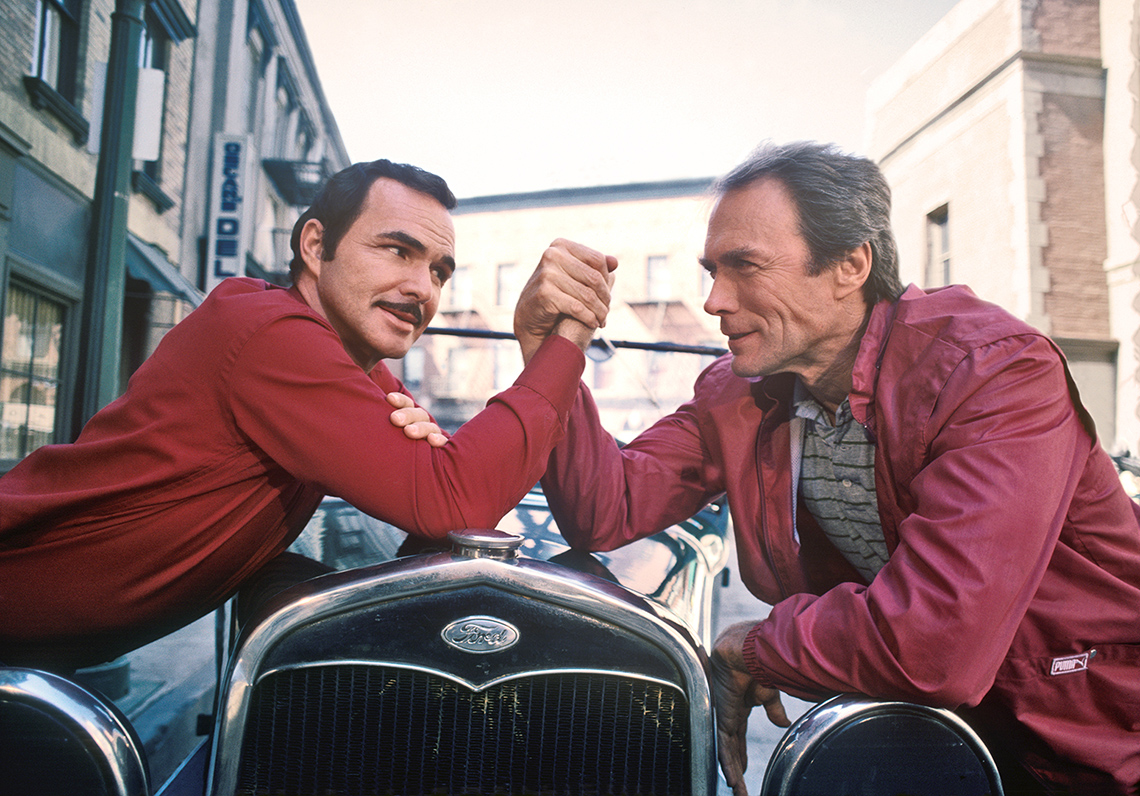 item 10 of Gallery image -  Burt Reynolds and Clint Eastwood, Los Angeles, California, 1984
