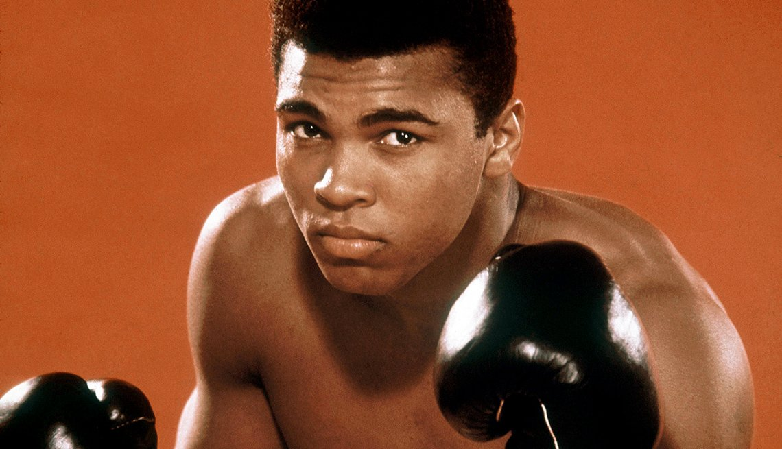 a look at the life and boxing achievements of american muhammad ali While muhammad ali has been the subject of countless articles and books  by [ ali] standing up as he did, it gave many of us much more  of texts that bridge  what today appear to be divergent messages in the polar  view all notes this  stance would change the course of his boxing career, his life, and.