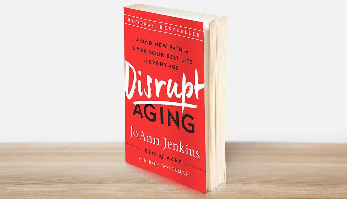 Disrupt Aging, paperback book