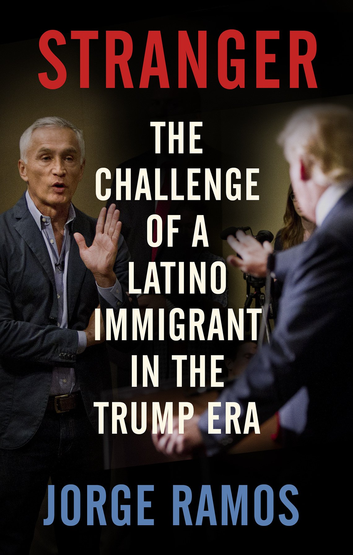 Jorge Ramos book cover in English