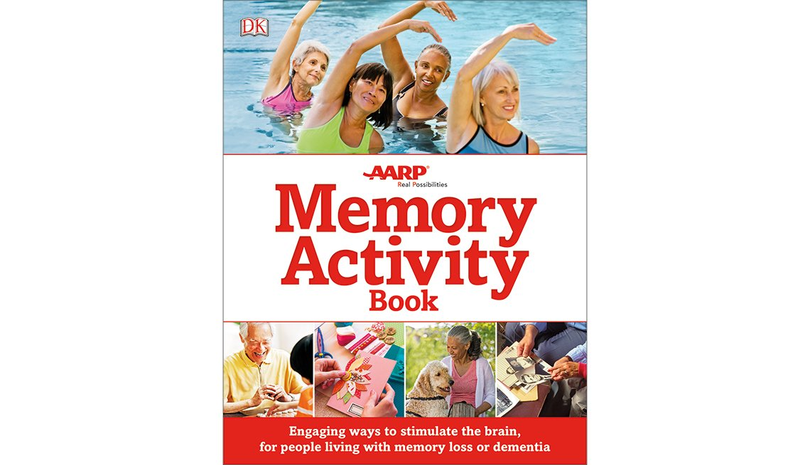 AARP memory activity book