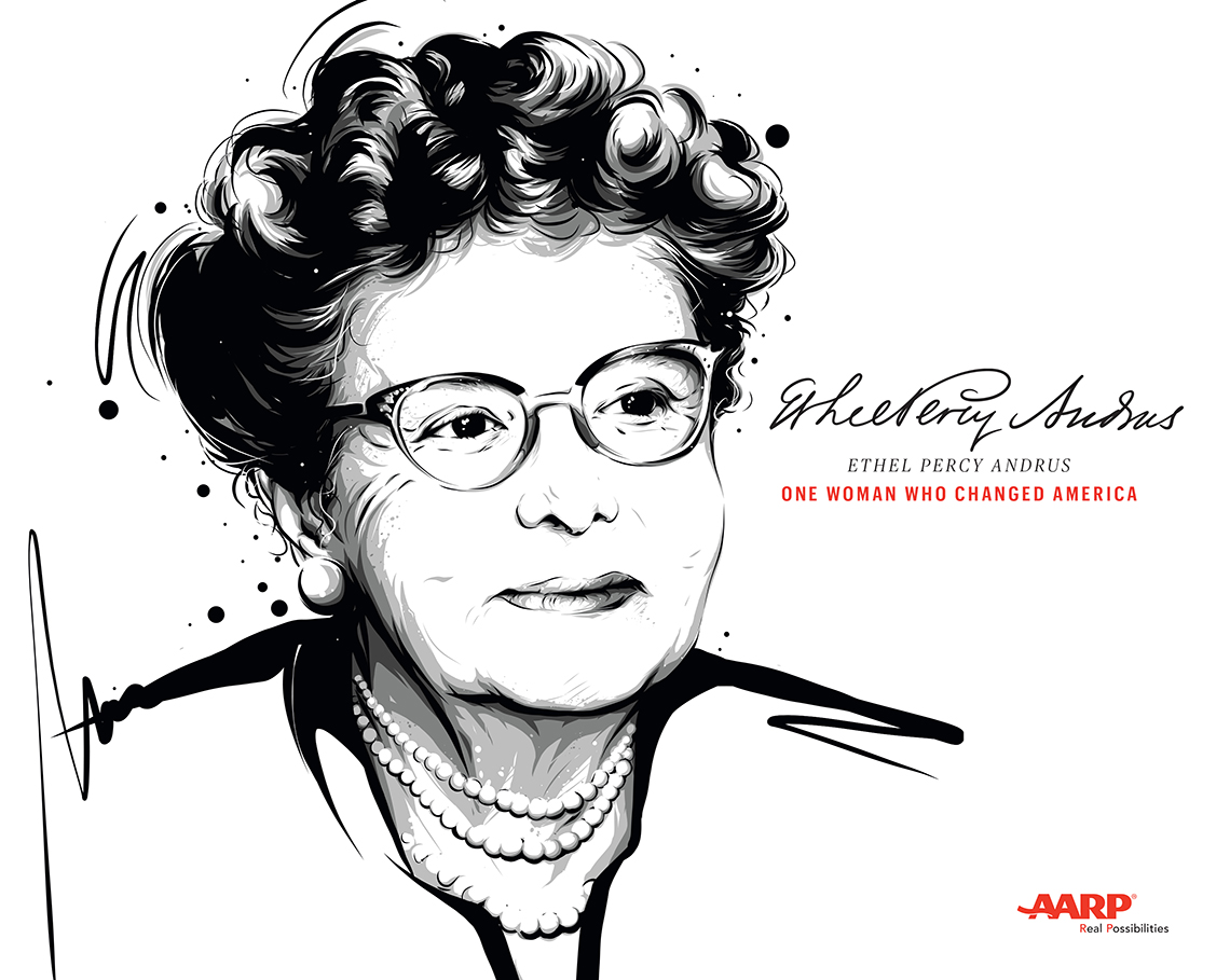 Book cover of Ethel Percy Andrus: One Woman Who Changed America