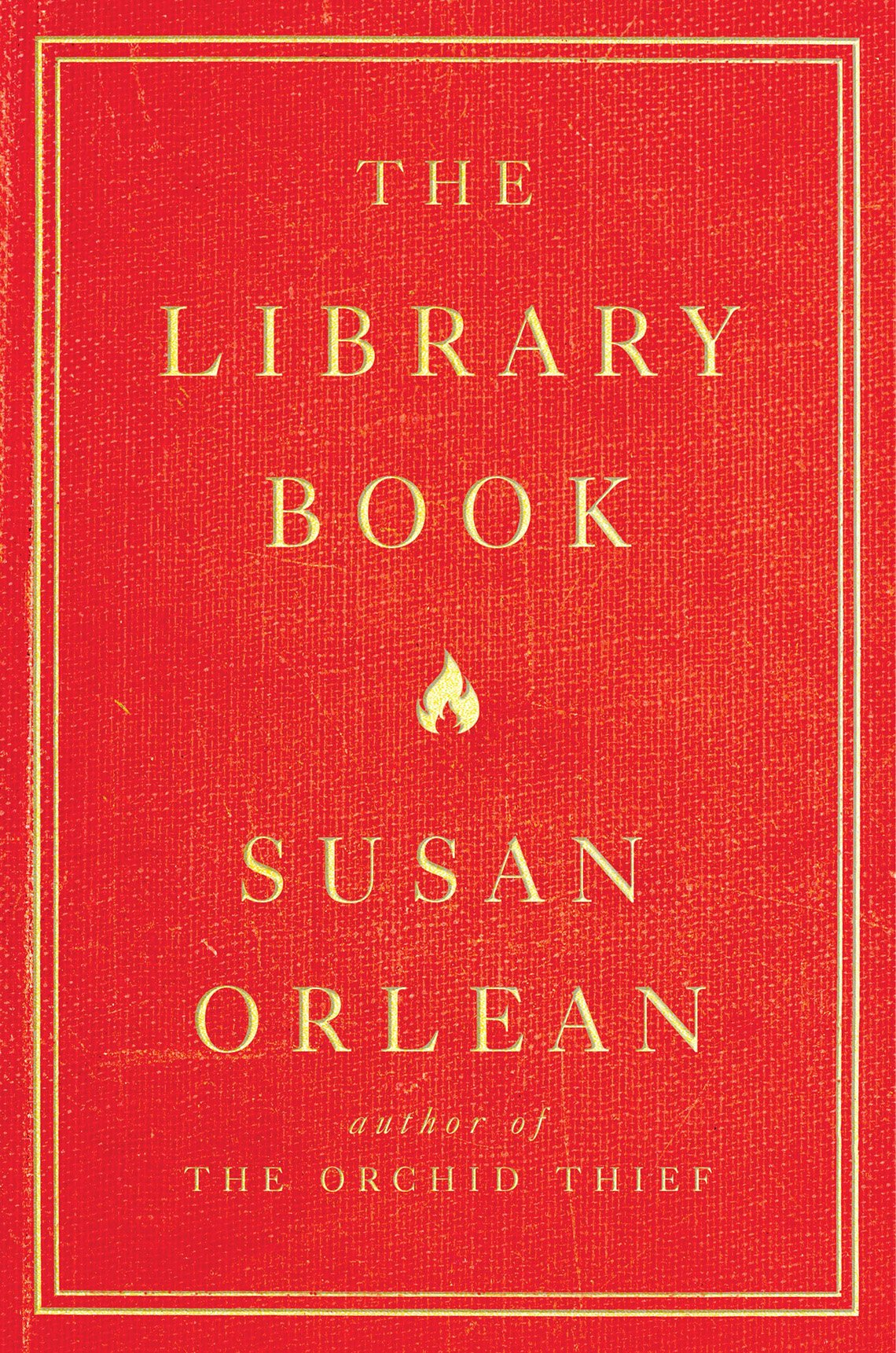 Book cover reads, The Library Book, Susan Orlean