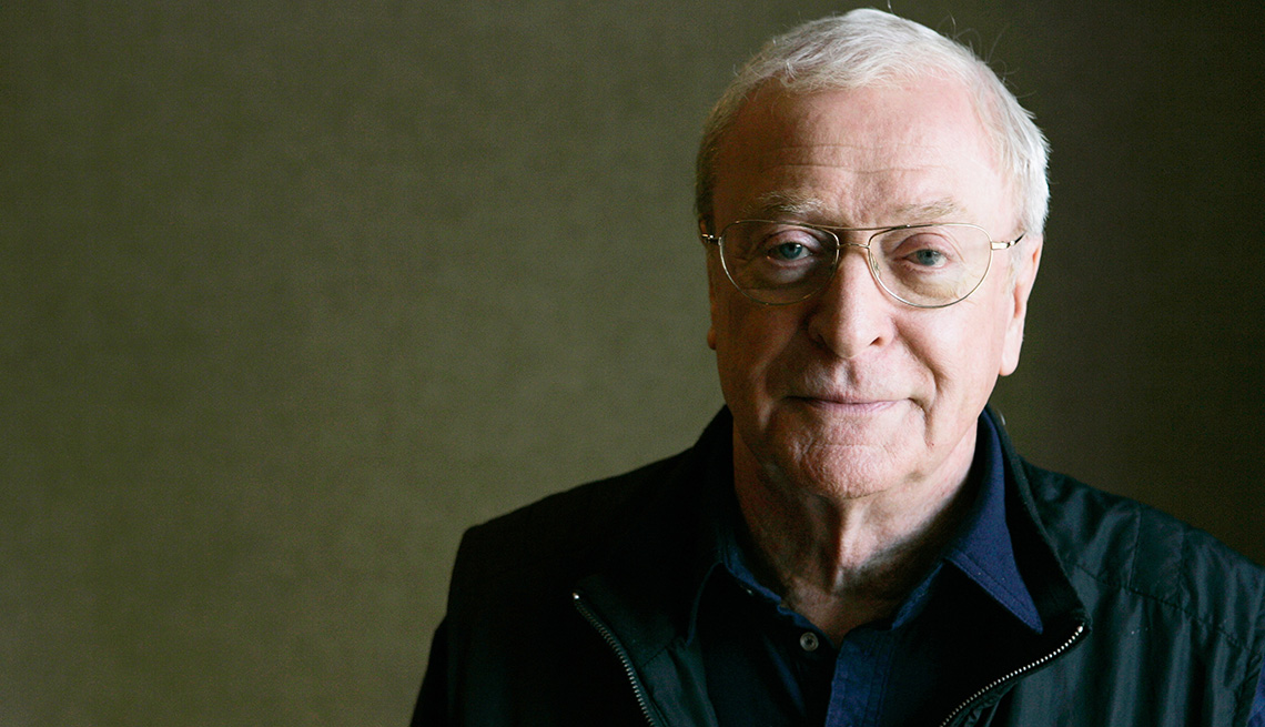 Michael Caine poses for a portrait