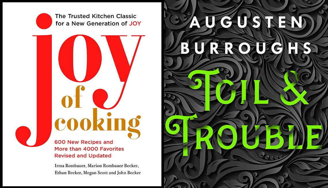Joy of Cooking, Toil and Trouble book covers