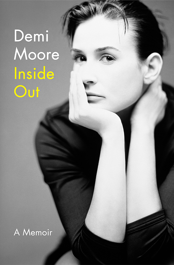Demi Moore Inside Out book cover