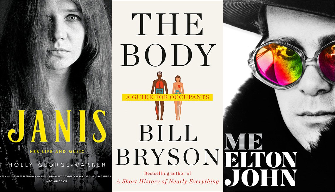 Janis, The Body and Me book covers