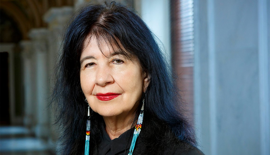 Poet Laureate of the United States Joy Harjo, June 6, 2019. Photo by Shawn Miller.