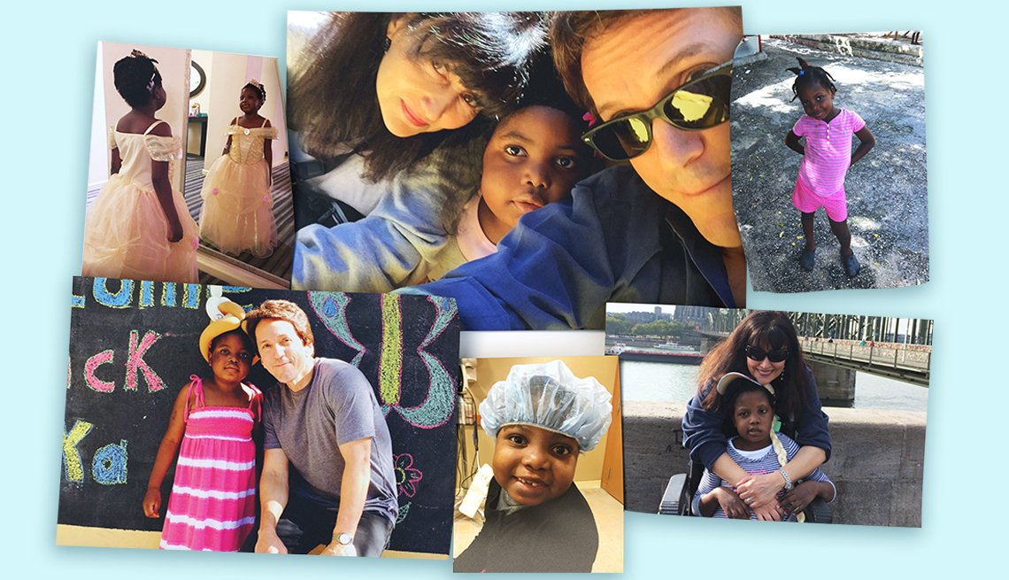 Mitch Albom and family