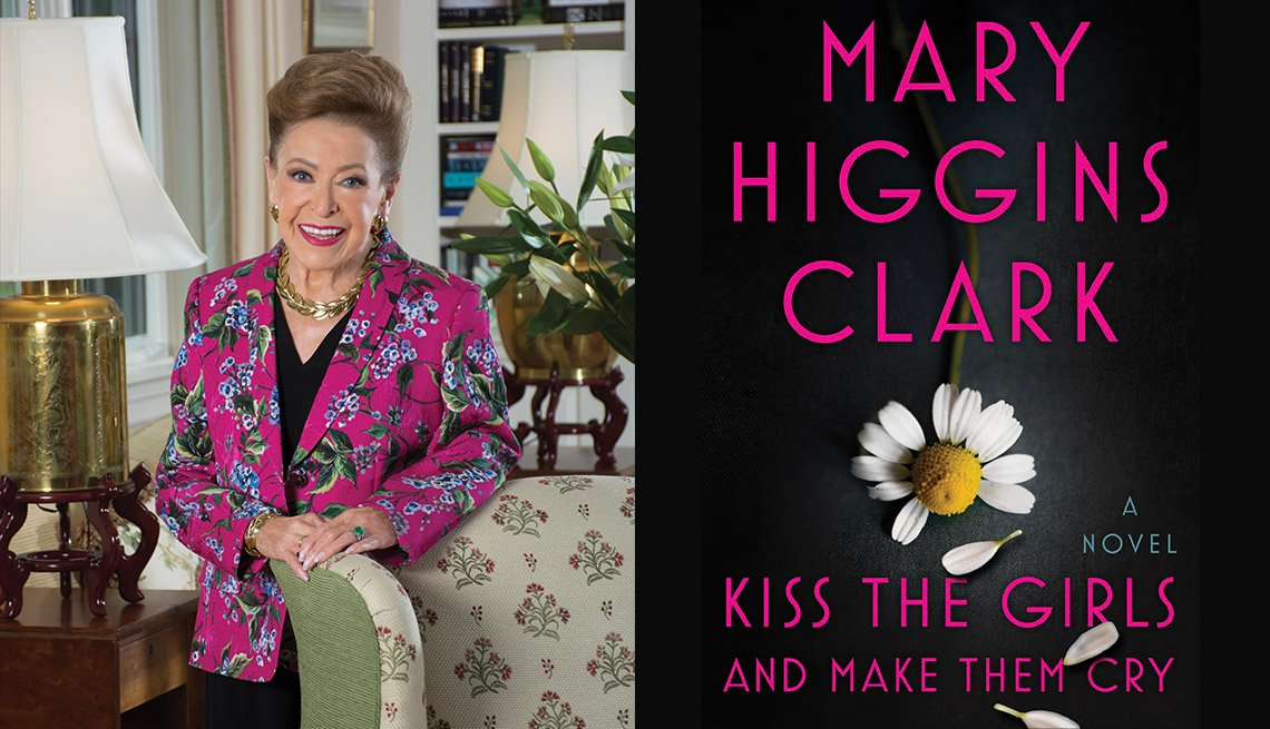 Mary Higgins Clark, Kiss the Girls book cover