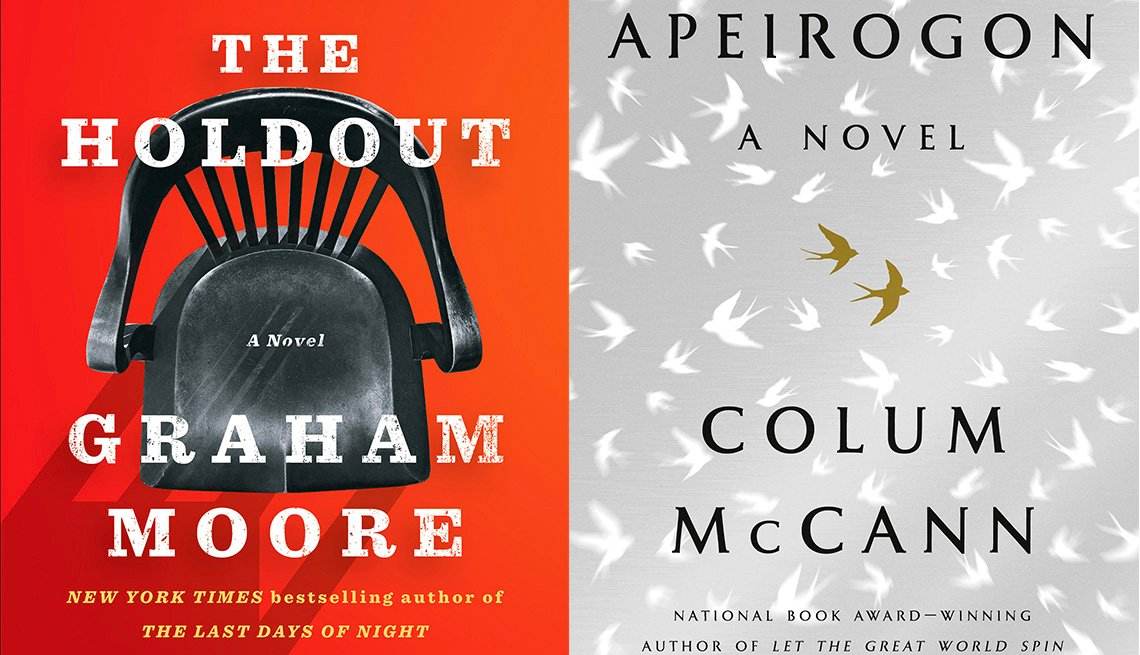 The Holdout, Apeirgon book covers