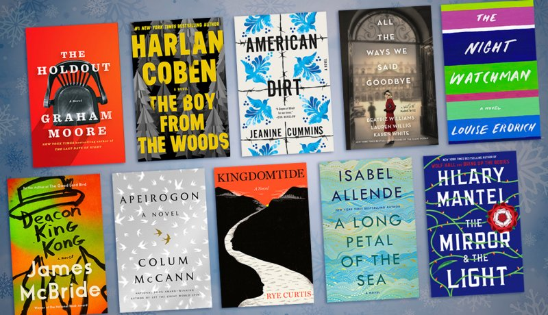 Best Fiction Books Of 2020.10 New Fiction Books For Winter