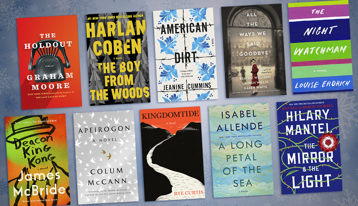 collage of ten books coming out in winter 2019/2020